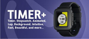 Must have apps for Pebble Time - Timer+