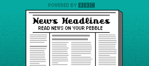 Must have apps for Pebble Time - News Headlines