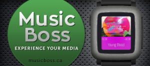Must have apps for Pebble Time - Music Boss