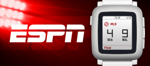 Must have apps for Pebble Time - ESPN
