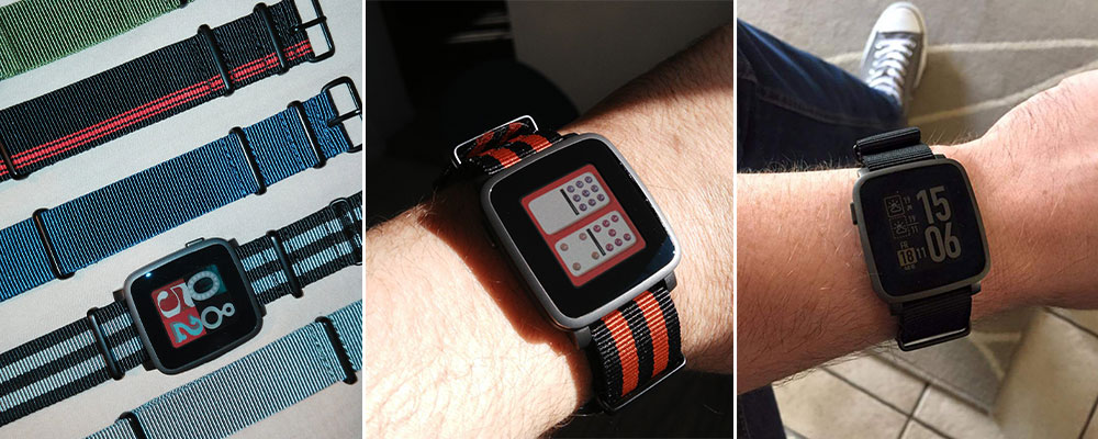 pebble time steel review español