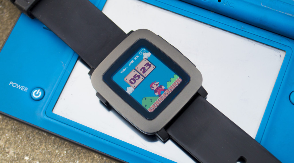 Best Pop Culture Watchfaces for Pebble Time - Mario Time