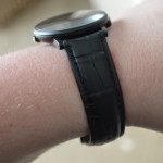 iStrap Alligator Grain Leather Band