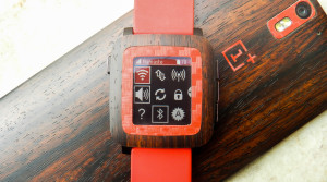 Control your phone with Pebble Time - Dashboard