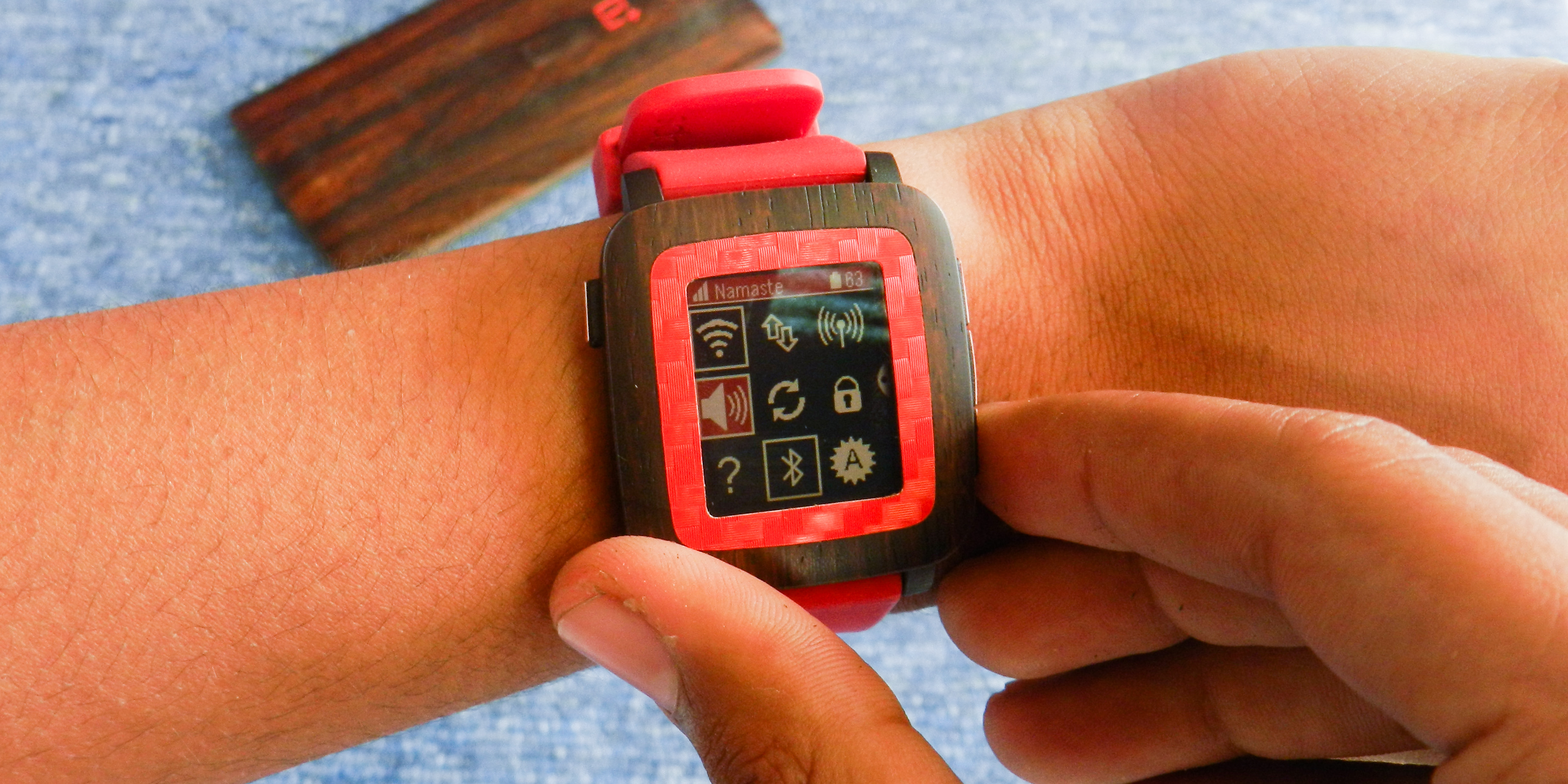 Dashboard on Pebble Time - Control your phone with Pebble TIme