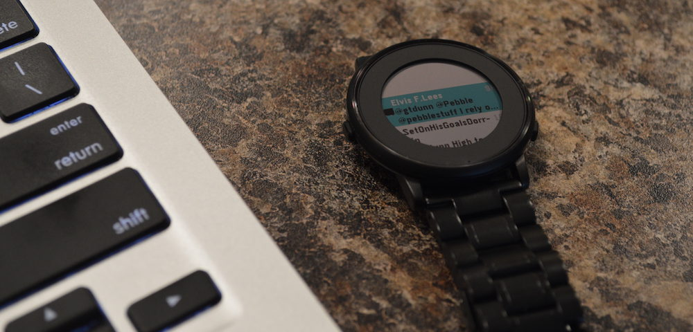 Turquoise: Twitter on the Pebble Time