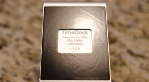 Timedock bottom side