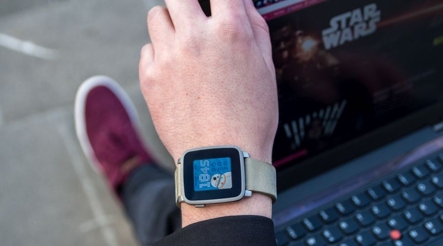 Best Watchfaces for Pebble Time and Pebble Time Steel - BB8's Face