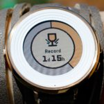 measure pebble time battery life with Battery+
