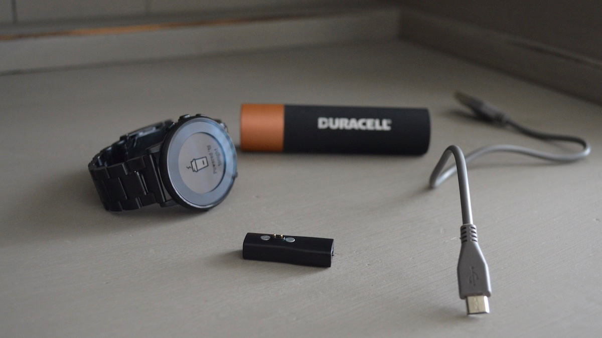 Micro USB Adapter for Pebble Time Round