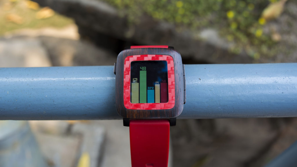 Best Watchfaces for Pebble Time - Bars