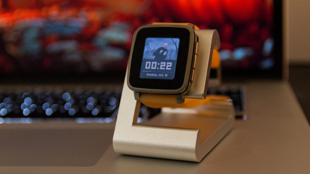 Pebble Watchface: Daft Punkin
