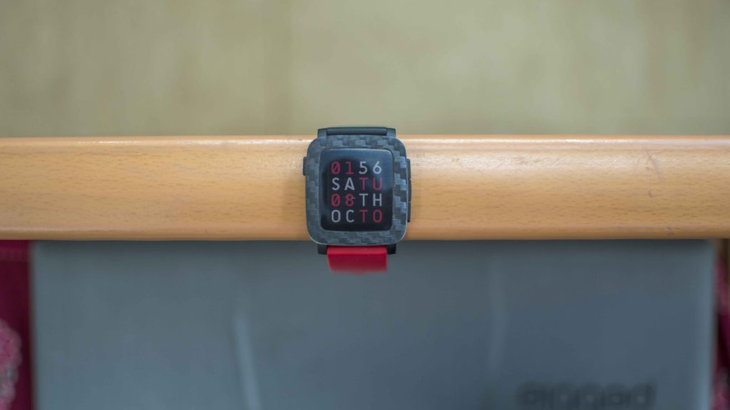 Best Watchfaces for Pebble Time and Pebble Time Steel - Grid Color
