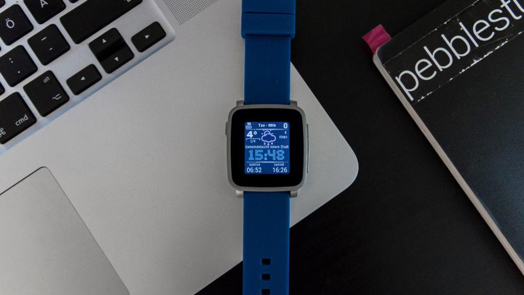 Pebble Time Watchface YAWN