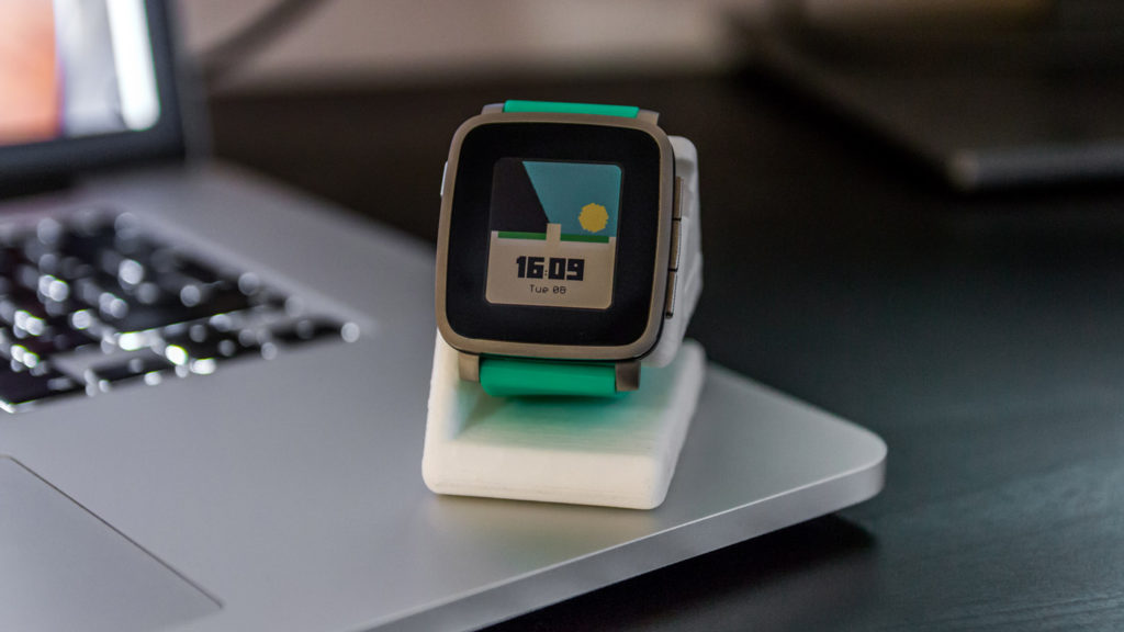 Pebble Time Watchface Mineclock