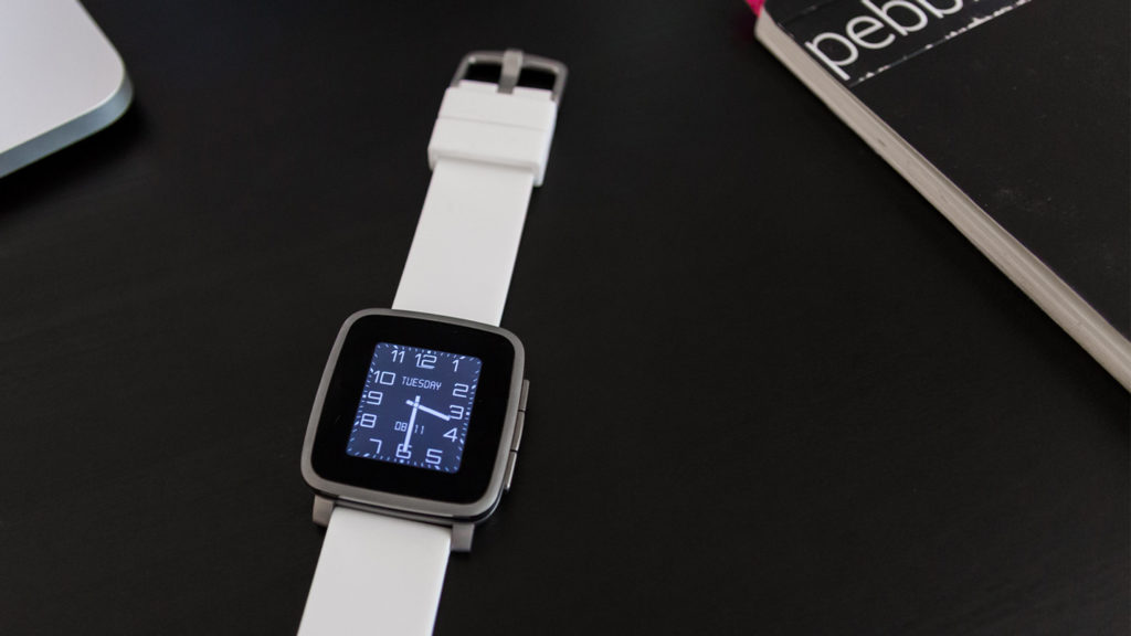 Pebble Time Watchface Modern New