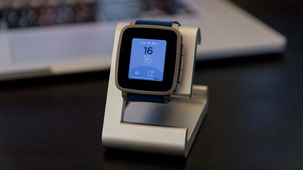Pebble Time Watchface Simple Colour & Time