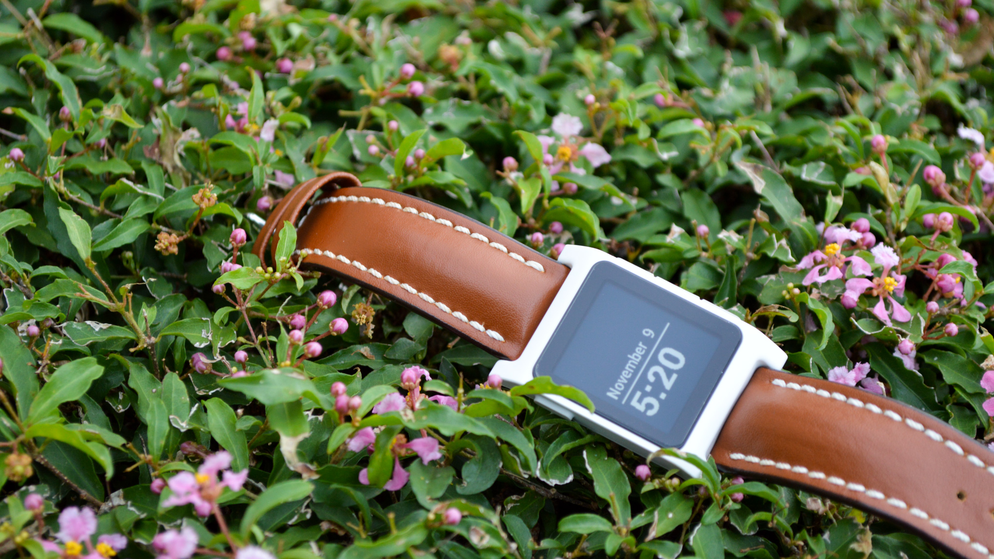 The Best Pebble 2 Watch Bands | Hirsch Leather Watch Band