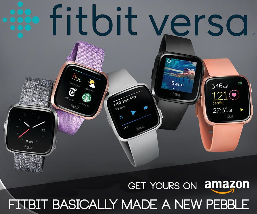 Fitbit Versa Rectangle Banner